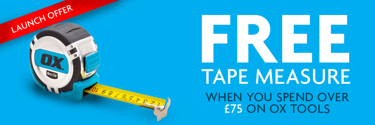 Ox free tape banner